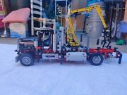 Lego Technic Logging Truck 9397 Not Complete Missing Parts