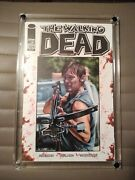 The Walking Dead 109 Daryl Blank Sketch Cover Painting By Jim Kyle Original Art