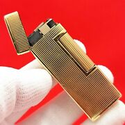 Dunhill - 14k - Solid Yellow Gold - Vintage - Gas Lighter - Outer Jacket