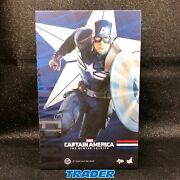 Captain America Stealth Suit Mms242 Hot Toys 1/6 Scale Action Figure Fastship