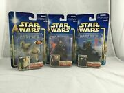 Selection Of Star Wars Action Figures - Prequel Phantom Menace - Aotc - Rots