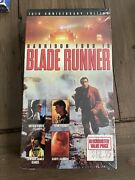 Blade Runner Vhs 10th Anniversary Edition Harrison Ford Sealed Igs Ready