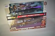 Jada Diecast Count Chocula And Catwoman With Both 1959 Cadillac Coupe Devilleand039s