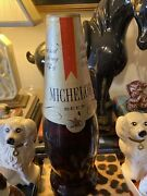 1970s Michelob Beer Bottle Large Coin Bank Plastic Advertising 16andrdquo Inches