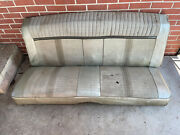 1965 1966 2dr Hardtop Back Seat Assembly Original Rear Ford Galaxie Mercury Oem