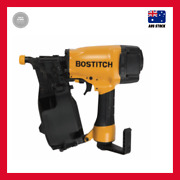 Bostitch 32 - 64mm 15° Coil Nailer Adjustable Depth Guide Soft Rubber Foot