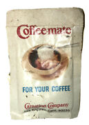 1950's Carnation Coffeemate Non-dairy Creamer Net Wt. 3 Gms. Small Packet