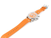 Waltham Lone Eagle Flyback Chrono Gmt Watch Menand039s Automatic Orange Stainless