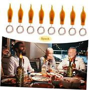 Wine Bottle Cork Lights,8 Pack Battery Operated Led Candle Flameless Tealight