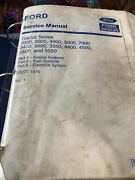 Ford Service Manual Tractor Series 2000,3000,4000,5000,7000