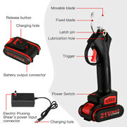 Portable 21v Garden Shears Adjustable Cutting Diameter Rechargeable Strong Power