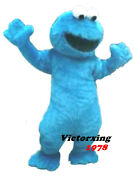 Sesame Street Cookie Monster Mascot Costume Free Shipping