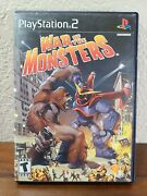 War Of The Monsters Sony Playstation 2, 2003 Ps2 - No Manual - Acceptable
