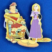 Hercules And Rapunzel Le50 Acme Tribute Outta Our Minds Disney Pop Fantasy Pin