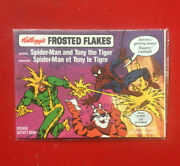 Kelloggand039s Frosted Flakes Canadian Spiderman And Electro Activity Comic Book 1990