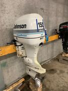 1998 Johnson 150 Hp Di Outboard Boat Motor Engine 20 Ficht Evinrude For Parts