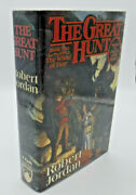 Signed True 1st/1st Wheel Of Time The Great Hunt By Robert Jordan Hardcover