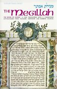 Megillah Book Of Esther- A New Translation With A By Meir Zlotowitz Mint