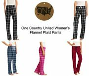 One Country United Womenand039s Flannel Plaid Pants