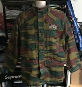 New And Never Worn Ss18 Supreme Infantry Jigsaw Camo Jacket Size L Large