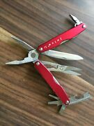 Early Leatherman Juice S2 Red Multitool. Discontinued Excellent Condition