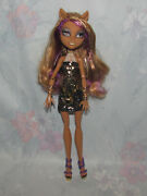 Monster High Clawdeen Wolf Doll - 13 Wishes - Outfit, Shoes Only Incomplete