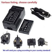 Battery Or Ac Charger For Toshiba Camileo X100 X-100 H30 H-30 H31 Px1657 Px-1657
