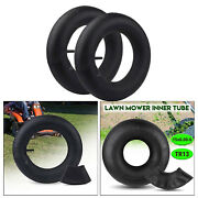 Pair Of 15x6.00-6 Tire Inner Tube Replacement For Tr13 Lawn Mower 15x6x6