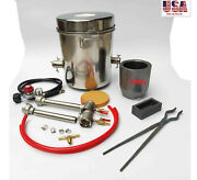 10 Kg Gas Metal Melting Furnace Foundry Kit Copper Propane Forge
