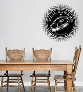 Wall Vinyl Decal Sticker Logo For Grilling Barbecue Beef Steak House N1495