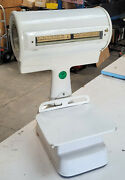 Antique Barnes Porcelain Commercial Industrial Grocery Store Scale 24 Lbs.