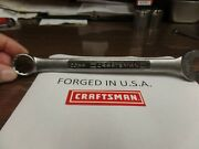Craftsman Metric Satin Combination Wrench, 12pt, Usa Nos, 21mm - Part 42938