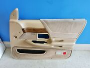 1992-1994 Ford Crown Victoria Vic Passenger Right Front Door Panel Tan Oem Nice