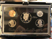 1992 United States Mint Premier Silver Proof Set With Box And Coa
