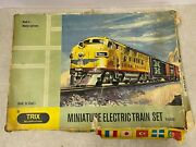 Vintage Trix 1908 Modellbahnen Miniature Electric Train N Gauge 1950and039s W.germany