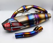 Exhaust Systems Full Titanium Pipe Motorcycle Parts Honda Crf300l / Rally