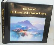 Art Of H. Leung And Thomas Leung - Hardcover Excellent Condition