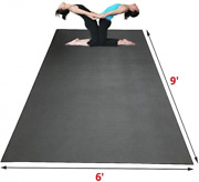 Sisyama Extra Large Workout Mat 9and039 X 6and039 X 5mm Group Partner Aerial Yoga Pilates