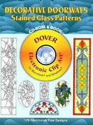 Decorative Doorways Stained Glass Patterns Cd-rom And Book By Carolyn Relei New