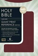 Kjv Bible Personal Size Giant Print Reference Edition By Nelson Bibles Vg+