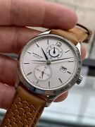 Heritage Chronometrie 112540 Dual Time 41mm Mens Steel Serviced Watch