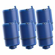 6 Pack Water Filter, Compatible With Pur Rf-9999 Faucet Replacement Water Filter