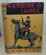 Carbine And Lance Story Of Old Fort Sill By Wilbur Sturtevant Nye - Hardcover