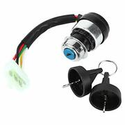 Madezz Motorcycle 5 Wire 5 Pin Ignition Switch Ignition Switch Start Lock Wit...