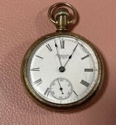 American Waltham American Waltham Pocket Watch Hand-winding Antique White Dial