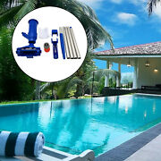 Swimming Pool Cleaner Kits Underwater For Fountains Tool Easy Assemble