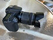 Canon Eos 70d Body With Charger, Batteries, 4 Lenses, Tripod, Filters And More