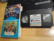 Rare Oop Wonderful World Of Disney Vhs Video Call It Courage Don Ho Boy And Eagle