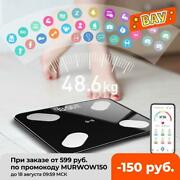 Bluetooth Body Fat Scale Bmi Scale Smart Electronic Scales Led Digital Bathroom