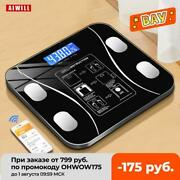 Body Fat Scale Smart Wireless Digital Bathroom Weight Scale Body Composition Ana